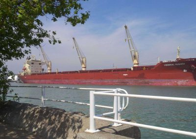 Oshawa Lakeview Park ~ Cargo Ship